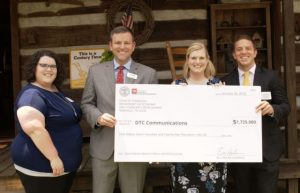 DTC Communications was awarded $1.725M to make more high-speed broadband Internet available to rural Tennesseans