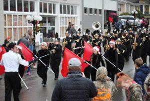 Alexandria Christmas Parade: DCHS band performs