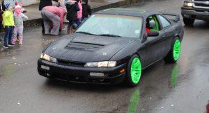 Alexandria Christmas Parade: 1st place for Antique cars: Derek Carter for his 1995 Nissan 240 SX