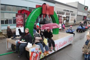 Alexandria Christmas Parade: 2nd place float-Wilson Bank & Trust