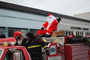 Alexandria Christmas Parade Sunday, December 15 at 2 p.m. Line-up at 1 p.m. on West Main Street