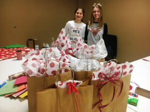Regifting Bags Ready for Delivery. Photo from last year's event