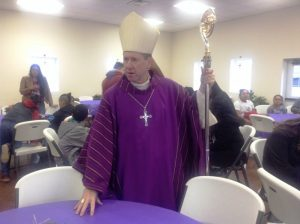Bishop Mark Spalding visits St. Gregory's Catholic Church