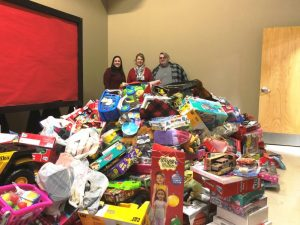 DeKalb Community Complex collected from our community over 1,200 toys during the 1st Annual Festival of Trees event.