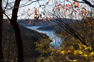 A view from Edgar Evins State Park. Courtesy of Visit Cookeville.