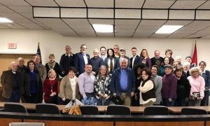 Mancini Addresses 6th Congressional District Democrats During Party Leadership Meeting