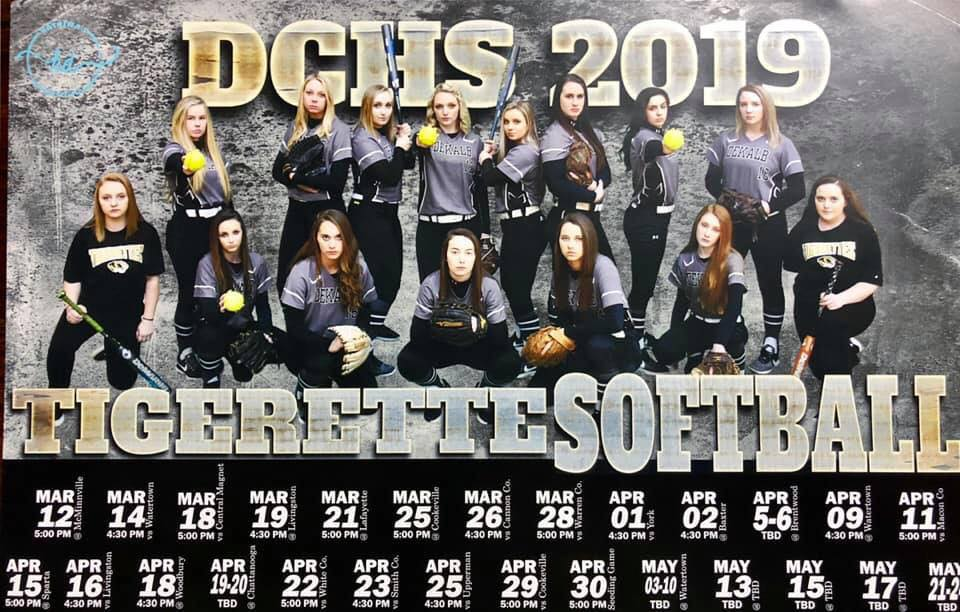 The DCHS Tigerettes  will  host an Alumni Softball Game on Saturday, April 27 at 2 p.m. at the Danny Bond Field.