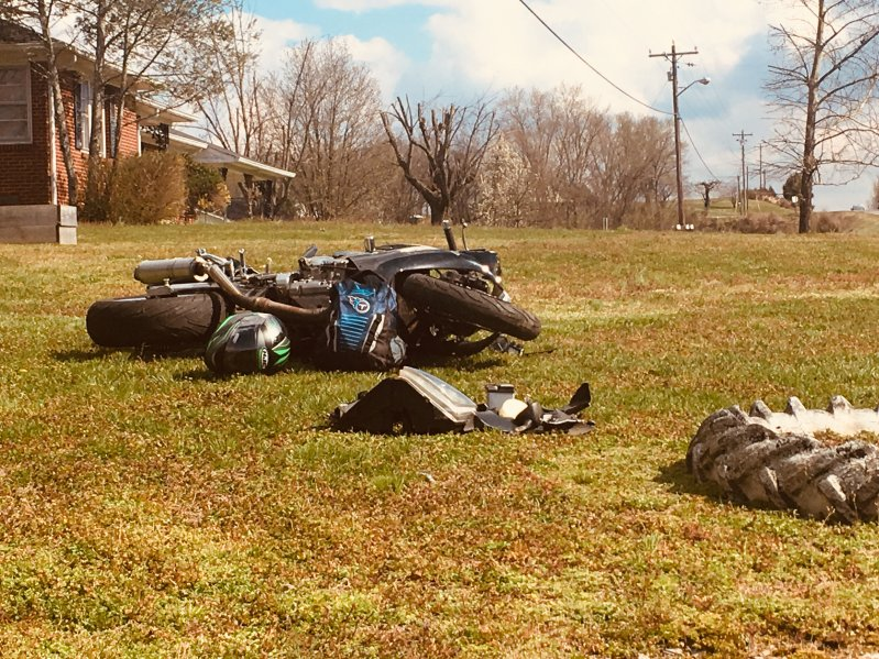 One Airlifted After Motorcycle Crash in Alexandria Thursday on Highway 70 at Academy Avenue