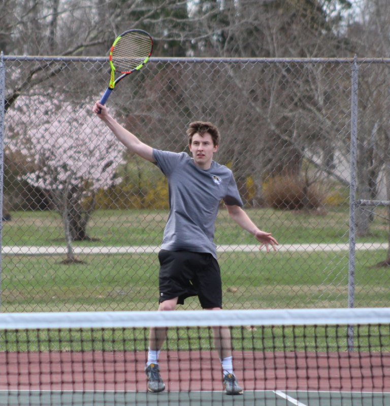 The DCHS Tennis teams went to Livingston Academy Tuesday, March 19 and brought home a pair of wins over the Wildcats. For the Tigers, Lance Davis (8-5), Garrett Hayes (8-4), Dosson Medlin (8-4), and Levi Driver (8-6) were all winners in their singles matches while Eli Cantrell and Gabe Angeles lost their matches. Pictured Lance Davis (READ MORE IN LOCAL SPORTS)