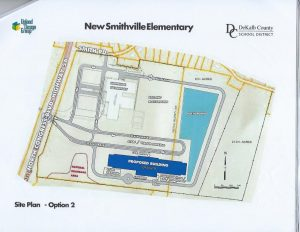 Site Plan Option #2 proposes to expand the campus with the acquisition of 12 acres