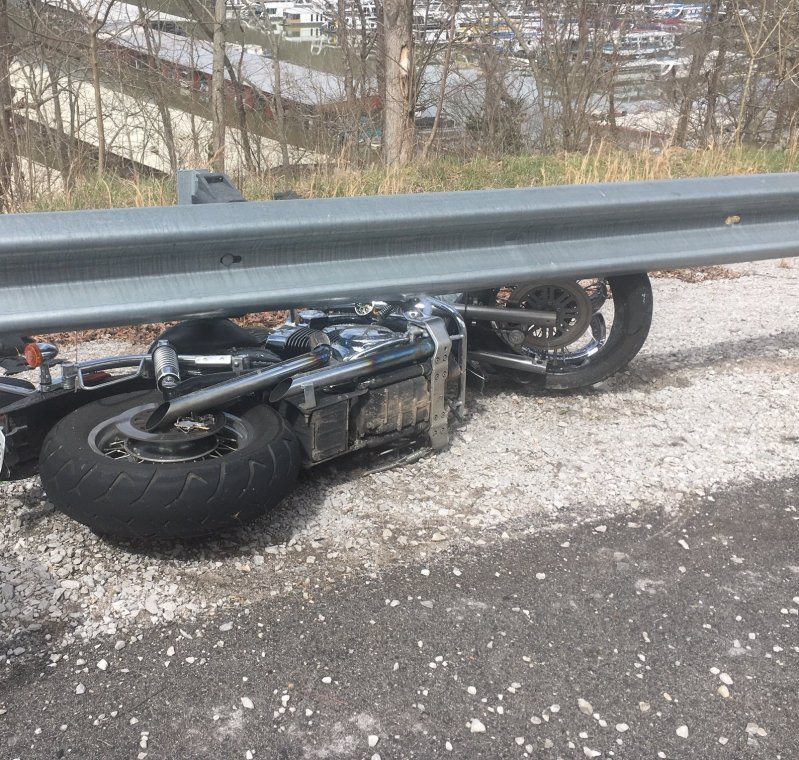 20 year old Zane Jefferson of Warren County was killed in a motorcycle crash today (Monday) on Highway 70 east at a guardrail near Sligo bridge (Smithville side).