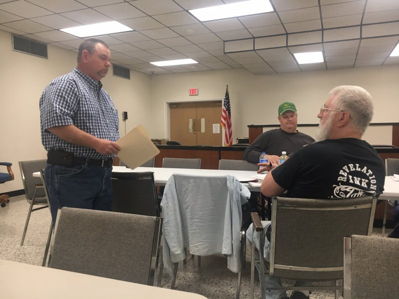 Smithville-DeKalb County Rescue Squad Captain Dustin Johnson asks County for Fuel Reimbursement Funds for agency volunteers