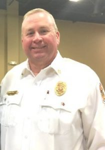 County Fire Chief Donny Green