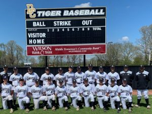 DCHS Tiger Baseball Team