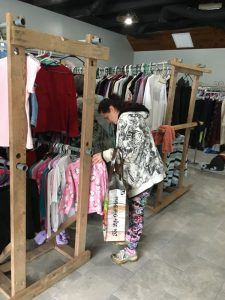 Clothes Closet Resurrects as Hope Center for DeKalb County (Bill Conger Photo)