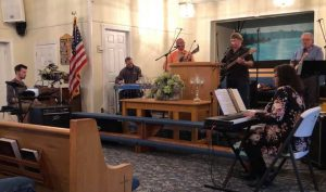 Fiddle Dee Dee on Broad Airs Sunday night Featuring the Singing Believers