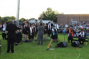 """DCHS Chorus performs """"The Climb"""" and """"Take Me Home Country Roads"""" at Graduation Friday Night"""