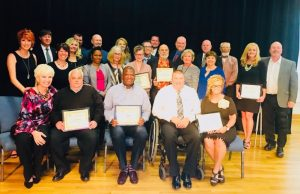 Chamber Milestone Award Winners for 20 to 55 years of service to the community