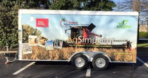"""The Farm Bureau mobile """"Tennessee Agriculture in the Classroom"""" AgSimulator will also be on site during the fair"""