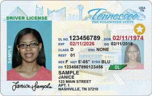 REAL ID compliant driver licenses and Identification credentials have a gold circle with a star in the right corner of the license to indicate it is REAL ID compliant