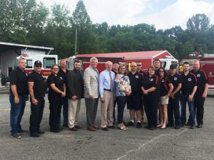 State Director of USDA Rural Development Commends County on Serving Three Communities with Grant to Buy Fire Trucks