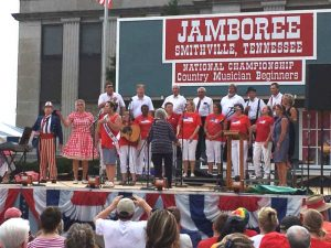 The Community Chorus delivered a stirring patriotic musical program