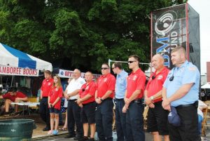 Members of Smithville Fire Department