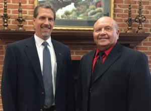 Mark Brown and John Vaden were recently welcomed as new members of the Wilson Bank & Trust Community Board in DeKalb County.