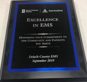 Excellence in EMS Award