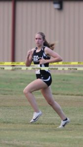 DCHS Cross Country runner Kaylee Mullican finishes Warrior Invitational at Murfreesboro with a time of 28:07
