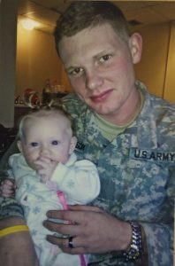 Billy with daughter Lilly Grace