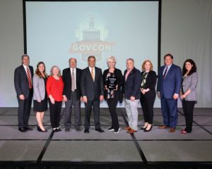 DeKalb County Awarded $50,000 ThreeStar Grant. Pictured left to right: Bob Rolfe, Commissioner TN Dept. of Economic and Community Development; Virginia Alexander, UCDD Asst. Director of ECD; Jodi Sliger, TCEcD Community Development Director, County Mayor Tim Stribling, Governor Bill Lee, Chamber Director Suzanne Williams, Tommy Lee, UCDD Deputy Director; Jill Osborne, UCDD Community Development Planner; Mark Farley, UCDD Executive Director; Brooxie Carlton, Deputy Asst.Commissioner TNECD