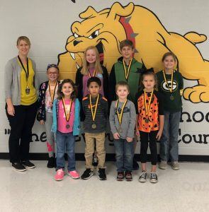 DWS October Students of the Month (Lisa Hale photo)