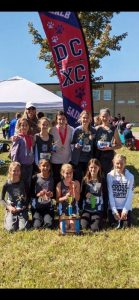 DMS Lady Saints Cross Country team competed at their Mid-State Regional Qualifier meet at Macon County High School on Saturday, October 12th