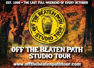 20th Annual Off The Beaten Path Studio Tour October 25-27