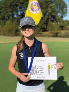 DCHS Golfer Anna Chew Wins the Region and is Headed to State