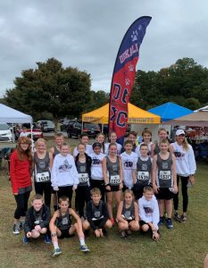 The DMS Lady Saints Cross Country Team fought hard for an overall and much deserving 5th place team finish this season which earned them All-State Honors. Only the top 5 teams are awarded this.