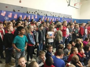 Smithville Elementary Students sing out for local veterans