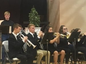 DCHS Band performs at Veterans Day program