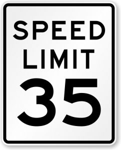 During Monday night's monthly meeting, the county commission voted to establish a posted 35 mile per hour speed limit on the Ragland Bottom Road to the US Army Corps of Engineers line