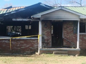 Fire destroys home of Martha Conger on Charity Lane