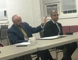 Members of the jail committee, appointed last month by County Mayor Tim Stribling, include Criminal Court Judge Gary McKenzie (left) and Chief Deputy Robert Patrick
