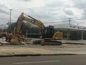 Familiar Local Landmark for 70 Years Torn Down