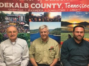 DeKalb County Mayor Tim Stribling, DeKalb County Emergency Management Agency Coordinator Charlie Parker, and Smithville Mayor Josh Miller appeared on a WJLE Radio Program Friday to address the Community Response to the COVID-19 Pandemic (Click a link on this website to hear the program)