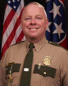 THP Lieutenant Charlie Caplinger Honored with First Responder Recognition Award