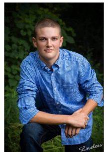 The 2020 recipient of DeKalb County 4-H scholarship is Clayton Crook.