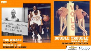 VOL Network Classics to Feature Tennessee Basketball Double Feature Saturday on WJLE