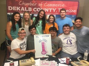 Members of the DCHS Class of 2020 celebrated a record breaking WJLE Radiothon in June as $11, 609 (exceeding the goal of $10,000) was raised for Project Graduation