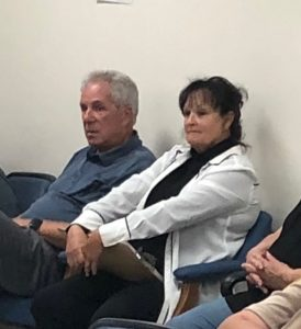 Residents of the Wolf Creek area are asking that the county establish a fire hall in their community. Several people showed up Tuesday night at a meeting of the county's emergency services committee to make the request. Among the concerned citizens from the community attending the meeting were star NASCAR driver Darrell Waltrip (pictured here) who has a home in the area. Janice Martin, another concerned resident and business owner, is also pictured.