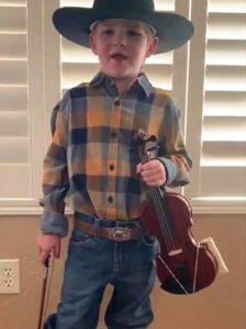 2020 Virtual Jamboree Youngest Fiddler – Sawyer Dietrich – Arizona